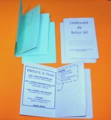 Pocketmod como cartão de visita