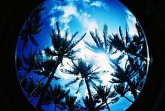 Blue Boracay Sky (ramosbon) Tags: lomo fisheye boracay top20xpro