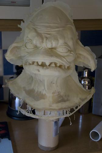 Latex Creature Head