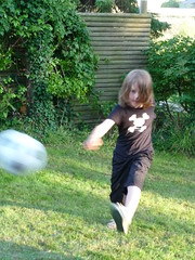 boy kicking a ball (tsaaby) Tags: doing todo activities aktivitet situations mennesker situationer