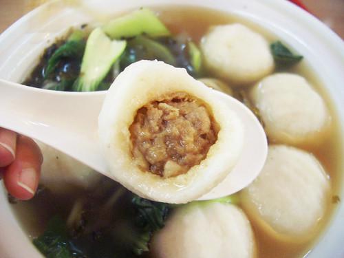 fujianese fish balls @ sheng wang