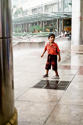 I wanna play in the rain