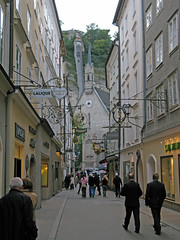 The Getreidegasse Luge