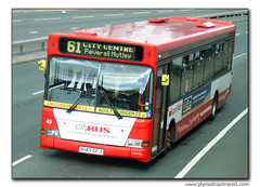 Plymouth Citybus 43 X143CFJ