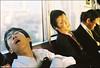 zZzZzzzzzZ!!! (Twiggy Tu) Tags: trip boy sleeping portrait film japan tokyo student stranger 2008 contaxrx carlzeissplanart50mmf14