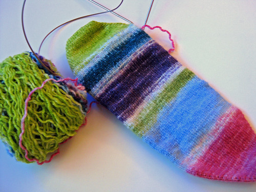 Stripey Socks So Far