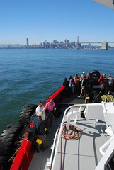 tug Goliah and San Francisco (ledges) Tags: williamscollege californiafieldseminar williamsmysticfall2008