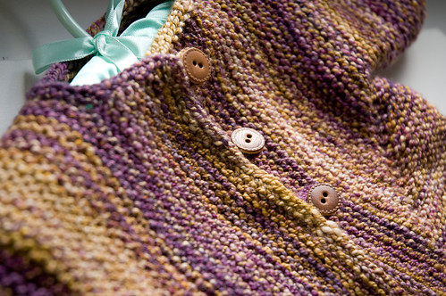 Handspun Baby Surprise Jacket