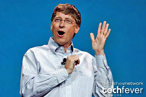 Bill Gates keynote by TechShowNetwork.