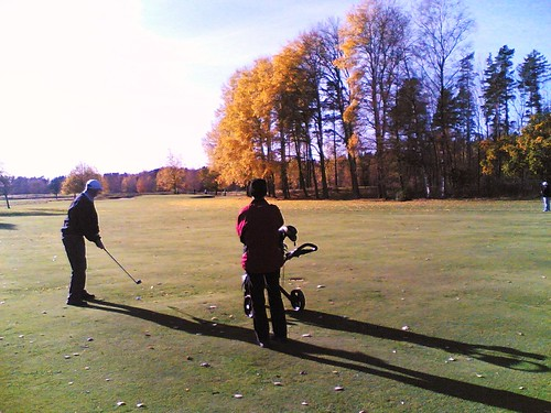 Autumn Golf in the Nordic #1