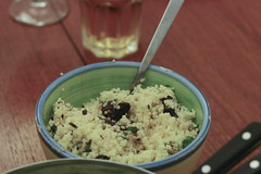 Couscous with Pine Nuts, Prunes and Apricots