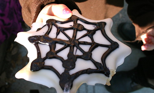 Spiderweb Cookie
