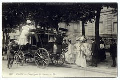 A Day At the Races: The Departure (c.1908) (postaletrice) Tags: street paris france calle carriage postcard vintagepostcard belle races rue francia carreras 1908 courses highsociety highclass pamelas cartepostale carruaje cpa sundaybest urbanscene epoque burgueses bellepoque aristocracia escenaurbana postalantigua