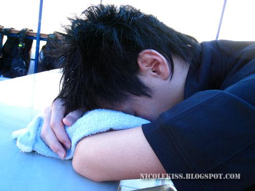 sleeping gerald
