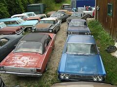 rot 1037 (dog427) Tags: cars rotting muscle barns