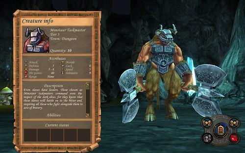 Dungeon Minotaur Taskmaster