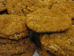Janet's Gingery Cookies