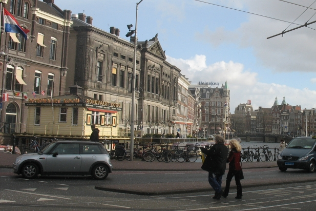 Rokin, city of Amsterdam, The Netherlands