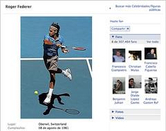 Facebook, Nadal, Federer - 2