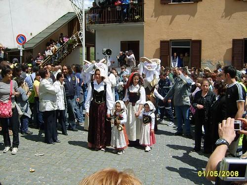 Festa di S.Domenico  Cocullo - Pescasseroli - Barrea 01.05.2008