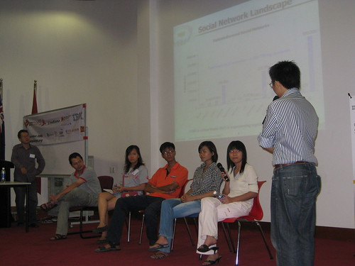 A session by Vietnamese on Social Networks