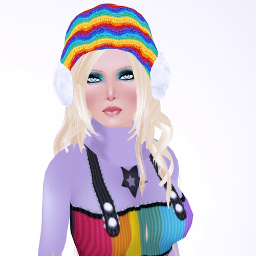 katat0nik Rainbow Jumper OUTfit by you.