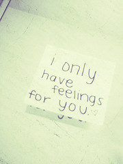 i only have feelings for you. (Kristine May.) Tags: from 3 mirror cabinet explore iloveyou medicine p ewwwww xoxo itsugly ionlyhavefeelingsforyou doesmyhandwritingreallylooklikethis