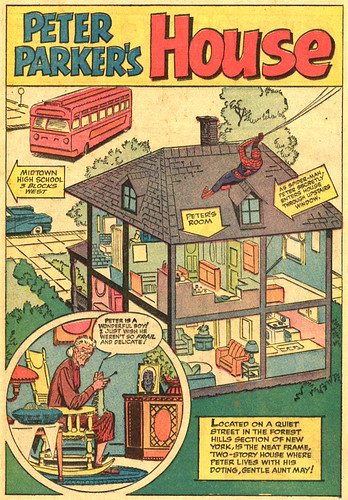 """Peter Parker's House,"" from Amazing Spider-Man Annual #1"