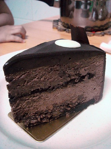 Chocolate cake from Patisserie Cake Shop