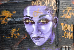 Purple Haze re-visited (Tomitheos) Tags: graffiti flickr daily haunted creepy spooky now today 2008 stockphotography  tomitheos greatwalloffaces graffitiwallart wwwtobincom