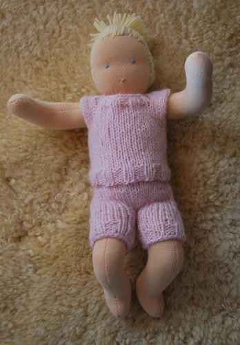Il libro: Come realizzare una bambola Waldorf