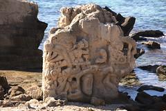 """Escultura """" hippie"""" en la playa de las Salinas (ibzsierra) Tags: beach canon salinas ibiza eivissa baleares olaya digitalcameraclub 400d"""