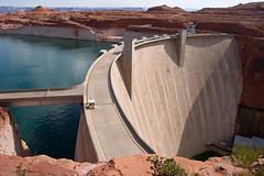 Glen Canyon Dam (James Marvin Phelps) Tags: red arizona southwest photography rocks desert canyon page coloradoriver lakepowell jmp glencanyondam pagearizona mandj98 jamesmarvinphelps