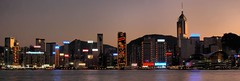 Hong Kong - Causeway Bay and Wanchai Skyline (cnmark) Tags: china plaza light panorama skyline architecture modern skyscraper landscape geotagged island hongkong bay noche boat ship cityscape nacht crane dusk centre famous central scenic panoramic exhibition hong kong explore crop convention noite cropped   nuit barge notte causeway nachtaufnahme wanchai hkcec explored allrightsreserved hongkongphotos bej diamondclassphotographer flickrdiamond theunforgettablepictures goldstaraward geo:lat=22293712 geo:lon=114175447 rememberthatmomentlevel1