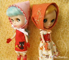 Hood and Mittens sets