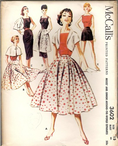 Fashion Trends 1950 S Dress Sewing Patterns