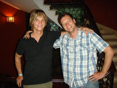 Nicolai and Jesper - happy Danes in Miraflores, Lima...
