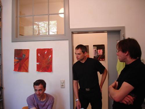 Ausstellung Jürgen Wolfstädter bei ml44 Mai 2006