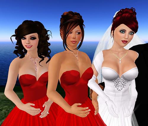Sam & Bella's Wedding - Bride & Bridesmaids