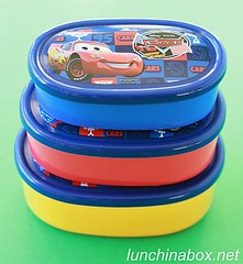 Disney Cars nesting bento boxes