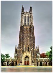 Duke Chapel (vw4ross) Tags: sky building church beautiful grey nc durham northcarolina duke chapel dukeuniversity sigma1020mm d90 nikond90