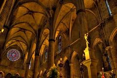 Iglesia Santa María del Mar, Barcelona.