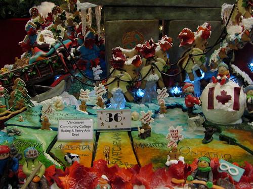 Gingerbread House Contest at Hyatt