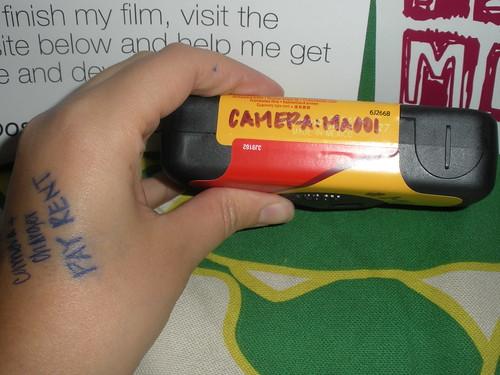 Camera 29, ready for its jourmey into the world