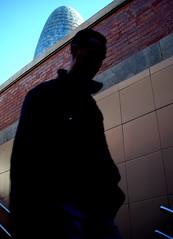 (arkilla) Tags: barcelona city tower arquitectura gente metro ciudad catalonia diagonal escalera catalunya silueta 2008 torreagbar bdf catalua escaleras agbar ciutat jeannouvel vianants nikoncoolpixl10 plaadelesglries arkilla nikoncolpixl10