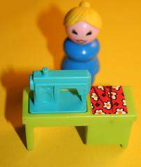 14 December 2008 (Copperhobnob) Tags: retro explore tribute 1970s sewingmachine housewife fisherprice hpad