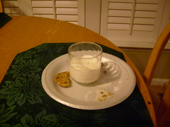 Unfinished Milk and Cookies