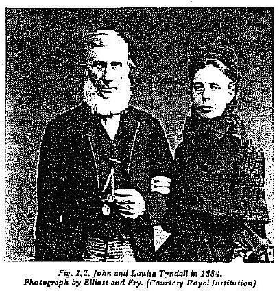 John Tyndall & his wife Louisa