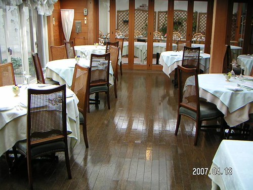 BianCoat applied to Restaurant after