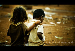 friends for ever (ayashok photography) Tags: friends india boys kids nikon streetphotography nikonstunninggallery yeshwantpur nikond40 krishlikesit rajastannomads ayashok nikor55200mm